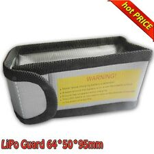 NEW LiPo Battery Safe Guard Charging Protection Explosion-Proof Bag 64*50*95mm B