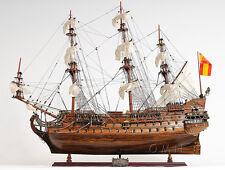"San Felipe 37"" Wooden Quality Tall Ship Model 1690 Spanish Galleon"