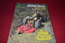 Bush Hog 405 406 Rotary Cutter Dealer's Brochure YABE10