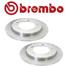 NEW For Suzuki Geo Pair Set of 2 Front Disc Brake Rotors Brembo 289.5x10mm Solid