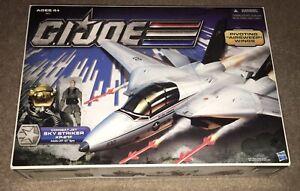 GI Joe Combat Jet Sky Striker XP-21F Captain ACE 25th 30th SEALED Skystriker