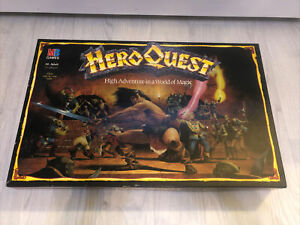 HeroQuest Board Game 100% Complete with unused figures, New But Unsealed