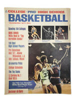 College Pro High School Basketball Yearbook Magazine 1971 Lew Alcindor