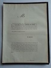 VICTOIRE MARIE FRANCOISE LEFEBURE DE FOURCY née PEIRON 1864