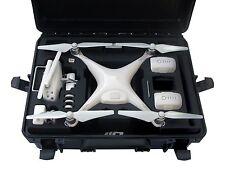 Transportkoffer für DJI Phantom 4 Pro Plus Handgepäck Profi Outdoor case 6 Akkus
