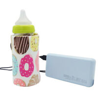 Baby USB Bottle Warmer Portable Thermal Kids Feeding Milk Bag Outdoor Keep Warm