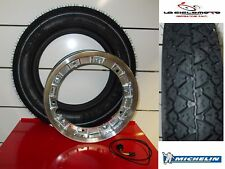 VESPA PK 50 S   KIT TUBELESS RIM + TYRE MICHELIN S83 3-00-10