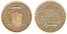 Medaglia Medal Sede Vacante 1963 Fridericus Callori Di Vignale Conclavis #MD2193