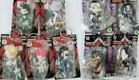 Hunter x Hunter Figure Key Chain 9p set Gon Killua Kurapika Leorio Hisoka Japan