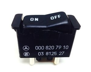 Mercedes GENUINE A/C Switch On/Off Rocker For Climate Control 0008207910