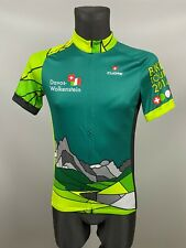 CUORE CYCLING BIKE TOUR 2014  SWISS SPORT SHIRT JERSEY TRIKOT MENS SIZE M
