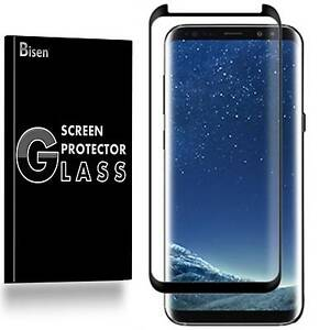 Samsung Galaxy S8+ Plus [BISEN] Tempered Glass Screen Protector Guard Shield