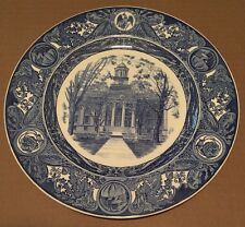 1974 University of Iowa Wedgwood Third Edition Old Capitol Plate