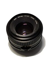 Minolta MD 50mm 1:1.7 Objektiv #8067508 leichter Nebel