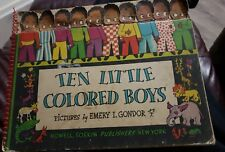 Ten Little Colored Boys Emery Gondor 1942