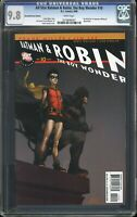 ALL STAR BATMAN & ROBIN #10 (8/08) CGC 9.8 WP RECALLED VARIANT QUITELY COVER