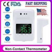 Wall-Mounted Non-Contact Forehead Thermometer  Infrared Automatic 1 Sec WO