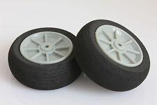 D30mm X 2 Pcs éponge mousse roue pneu pour Radio Control Airplane MODEL Avion