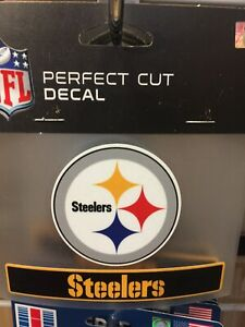 Pittsburgh Steelers Perfect Cut Logo Decal NFL Licensed Wincraft Window Decal