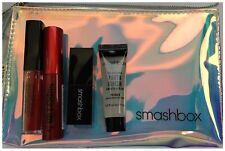 3pc Smashbox Photo Finish Primer Mini Lipstick Iridescent Holographic Bag