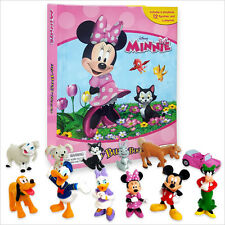 MMBK Minnie Mouse My Busy Book & Map Plus 12 Figures