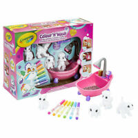Crayola Washimals Playset - Colour and wash adorable little pets