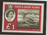 Turks & Caicos Stamps Scott #135 MINT,H,VF (X6963N)