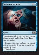 MTG Magic M15 - (x4) Mind Sculpt/Sculpture mentale, French/VF