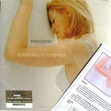 MADONNA LP Something To Remember 180 Gram SEALED 2012 Vinyl NEW + PROMO Sheet