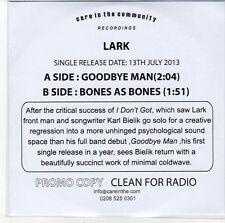 (EB907) Lark, Goodbye Man  - 2013 DJ CD