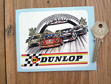 "DUNLOP LeMans BMW CSL 911 Capri etc Classic Car Sticker 4"" Tyres Race Racing"