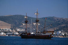 669033 Sailing Vessel Golden Hind A4 Photo Print