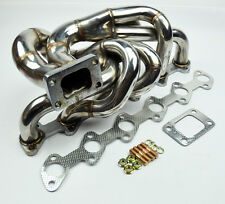 T3 Flange Stainless Steel Turbo Manifold FITS BMW E30 88-91 M20 I6