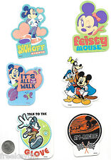 12 Classic Disney Mickey Mouse Club Minnie Stickers Lot Decals Party Favors