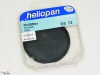 Heliopan Polfilter Circular Slim Digital ES 72mm Polarisationsfilter (Germany)