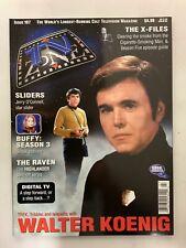 Tv Zone Cult Tv Magazine October 1998 Issue#107 Babylon 5 Walter Koenig