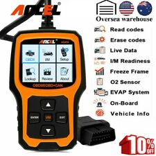 ANCEL AD410 Vehicle OBD2 Engine Code Reader Erase codes Scanner Diagnostic Tool