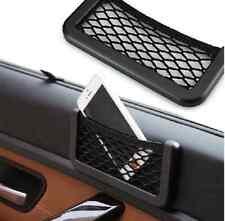 Car Black Dashboard/Side Storage Net String Pouch Bag GPS Mobile Cards Organizer