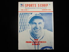 January 1974 Sports Scoop Magazine – The Fred Lindstrom Story