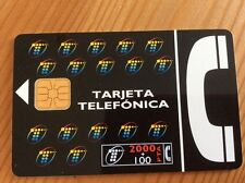Collectable Phone Card Spain New Logo Nuevo Imagen Tarjeta Telefónica