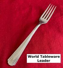 World Tableware Leader Pattern Stainless Steel Flatware Dinner Fork 7 1/4