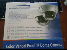Speco Dome Security Camera - VL650IRVFW Color Vandal Proof IR