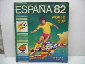 Album figurine Panini – ESPANA 82 – coupe du monde de football 1982  Rare album
