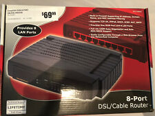 CompUSA CUSA 8 Port CBL/DSL Router