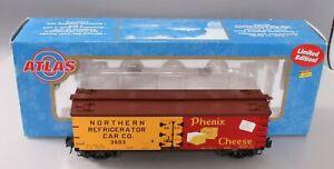 Atlas 8101-1 O Gauge Phenix Cheese Woodside Reefer Car #3603 [3Rail] LN/Box