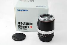 "Voigtlander APO LANTHAR 180 mm f/4 PK-A  for  Pentax ""Excellent++ in Box"" #1097"