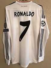 Real Madrid Formotion Ronaldo CLPlayer Issue Shirt Match UnWorn Jersey Spain