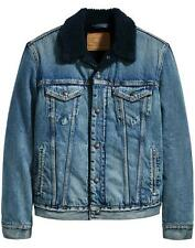Levi's Men's Denim Sherpa Trucker Jacket Levi's Premium NWT Size M