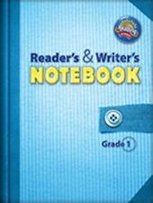Scott Foresman Reading Street Readers Writers Notebook Common Core Grade 1 USED