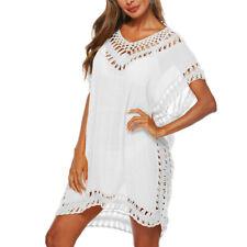 Summer Bikini Cover Up Sarong Dress Swimwear Kaftan Lace  Beach Wear